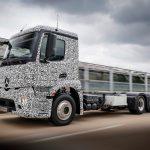 Mercedes Unveils New 26 Tonne Electric Truck