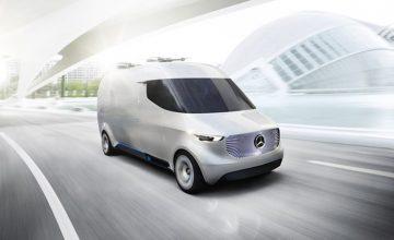 Mercedes Vans Unveils Futuristic Business Plans