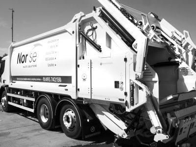 Norse Waste Solutions Installed Bin-Weighing Equipment in Their Fleet