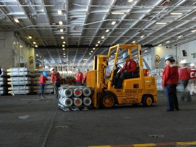 JJX Logistics Aquires new Flexi VNA Forklifts