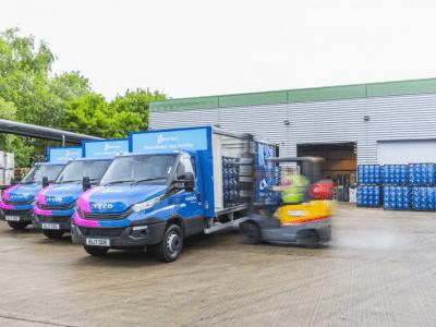 Fraikin Supply Waterlogic with new 19-vehicle Fleet