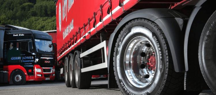Gerry Jones Transport Installs new Michelin Tyres