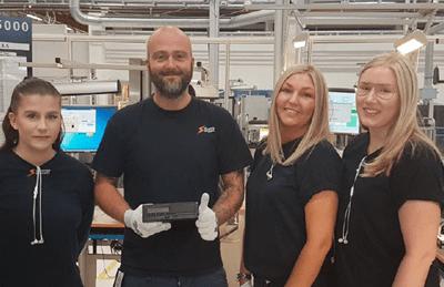 Stoneridge Electronics Manufactures Millionth Tachograph