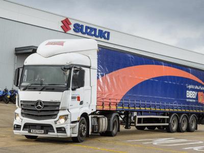 Bibby Distribution Wins Distribution Contract for Suzuki