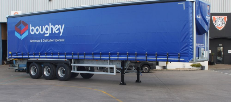 Boughey Distribution Work to Replace Vehicles with Tiger Trailers