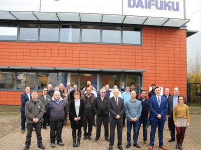 Daifuku Celebrates 80 Years and Launches New Business Plan