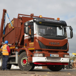 IVECO Supplies two Eurocargo DriveAway Skip Loaders to Brown Recycling
