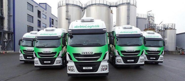IVECO Supplies Five Stralis NPs to VERBIO Logistik